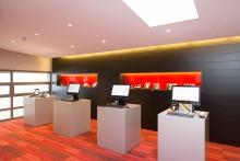 Vue du nouveau showroom de CEL